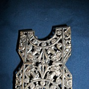Vintage Art  Nouveau Aurora Silver Plate Card Holder Free P&I US BUYERS