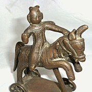 REDUCED Bronze Temple Toy c.1700