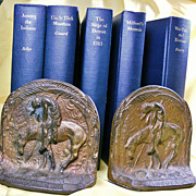 REDUCED Collection: Native American History with 1920's Book Ends