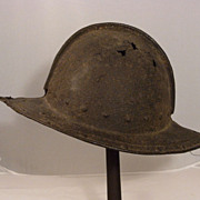 REDUCED English Pikemans Helmet C. 1600s