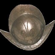 European Morion Helmet c.  1600