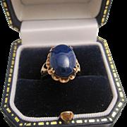 14K Lapis Lazuli Ring