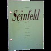 """SOLD Seinfeld """"Big Salad"""" Script"""