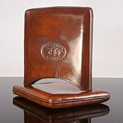 Large 19th Century Hide Cigar Case