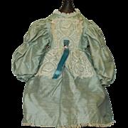 Vintage silk blend doll dress