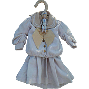 Antique sailor dress & bisque sailor doll