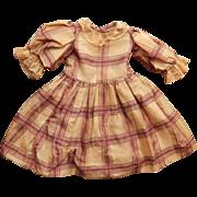 SALE Beautiful original antique doll dress