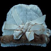 SALE Gorgeous antique Jumeau doll bonnet