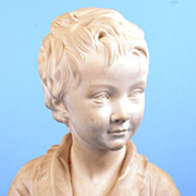 SOLD French Sevres Porcelain Bisque Bust (after Houdon) of Alexandre Brongniart