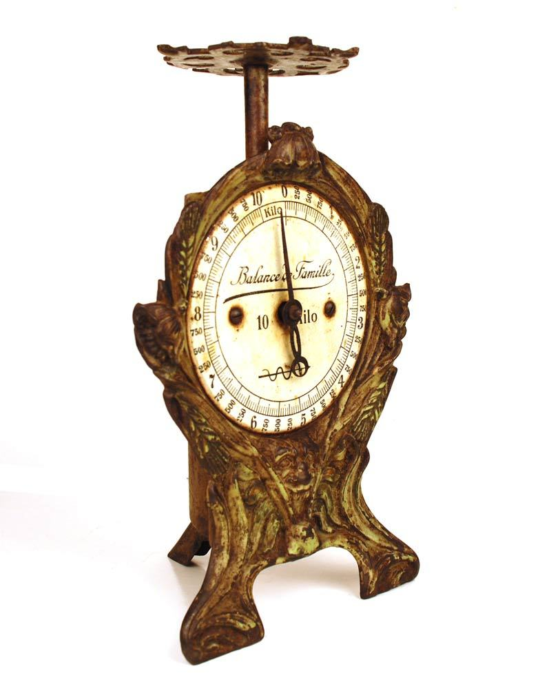 Antique Kitchen Scale: Antique French Kitchen Balance (Kitchen Scale) From