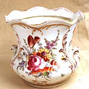 SOLD Dresden Porcelain Jardiniere