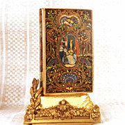 "SOLD Antique French Romantic Binding, ""Les Peintres Celebres""  circa 1844"