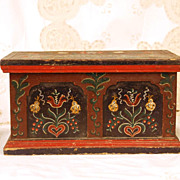 German/Dutch Hand Painted Box