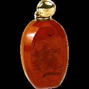 Antique Napoleon III Era Jasper Scent or Salts Bottle