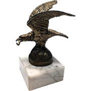 Antique Nineteenth Century Gilded Bronze Figural Porte Montre Watch Holder