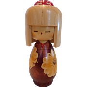 Fine Artist Signed Kokeshi Doll Japan