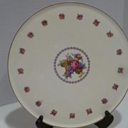 Vintage Erphila Art Pottery Dessert Platter Cake Plate Germany
