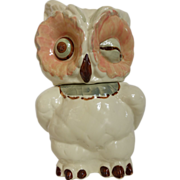 Vintage Shawnee Winking Owl Cookie Jar USA