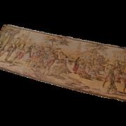 SOLD Lovely European Tapestry Italian Renaissance Scene