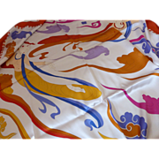 Traditional Chinese Silk Mermaid Scarf