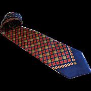 Authentic Gianni Versace Silk Necktie Italy