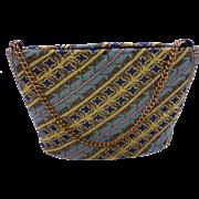 Rare Micro Bead Purse Handbag Clutch