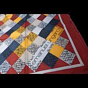 Vintage EMANUAL UNGARO Silk Scarf