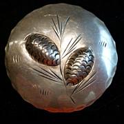 Vintage Sterling Silver Stuart Nye Pine Cones Brooch