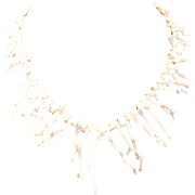 Natural Angel Skin Branch Coral Necklace