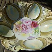 "Antique Stunning RS Prussia 10 1/2"" Porcelain Bowl"