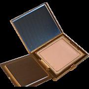 Vintage Elgin American Gold Tone Powder Compact