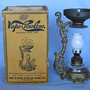 The Cresolene Vaporizer w Box And Instructions