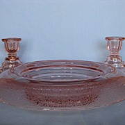 Paden City Pink Party Line Console Set