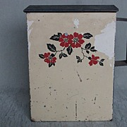 Hall China Red Poppy Metal Soap Dispenser