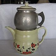 Hall China Red Poppy Daniel Coffee Pot