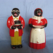 Aunt Jemima & Uncle Mose Salt & Pepper