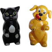 Fifi and Fido F&F Mold & Die Works Salt & Pepper