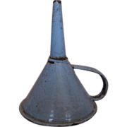 Small Enamelware Funnel