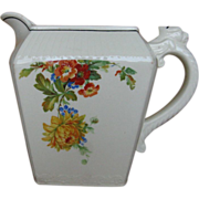 Vintage Harker Pottery Milk Water Pitcher 1930s