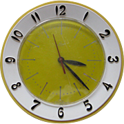 Lux Clock Manufacturing Company Electric Wall Clock