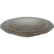 Depression Glass Indiana Custard Large Berry Bowl