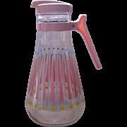 Vintage E-Z Por Corporation Glass Carafe or Pitcher