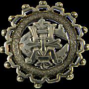 REDUCED Exquisite Aesthetic Period AEI Pin  Ca 1880