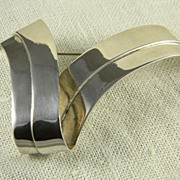 SALE Modernist Mexican Sterling Pin