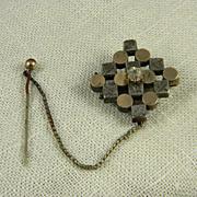Unique Art Deco Lapel Pin