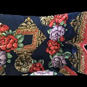 Long floral silk scarf Jones New York