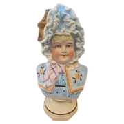HUGE Sale! Adorable Victorian Bust of Little Girl #1!