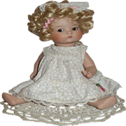 SOLD CLEARANCE Just  Me Armand Marseille All-Bisque Artist Repro Doll!