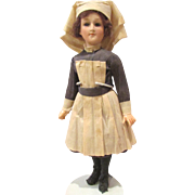 "REDUCED RARE WWI Nurse Doll All-Original Only 9"" tall!"