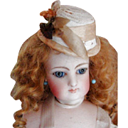 SALE Cyber MondayJaunty Hat for Your French Fashion Doll!